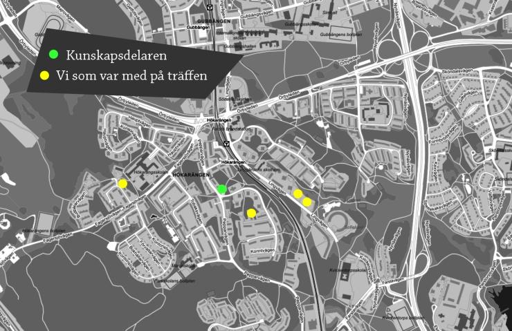 Karta Hökarängen